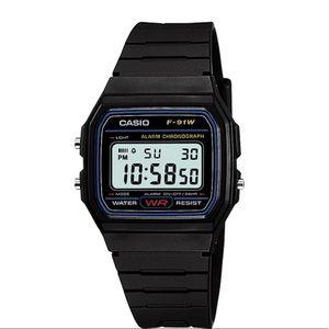 Casio F91W-1 Classic Resin Digital Sport Watch